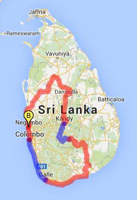 srilankamap