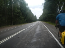 Road to Primorsk